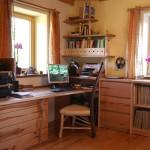 Wohnzimmer in Birne