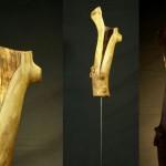 """Skulptur """"Voluntaris"""""""